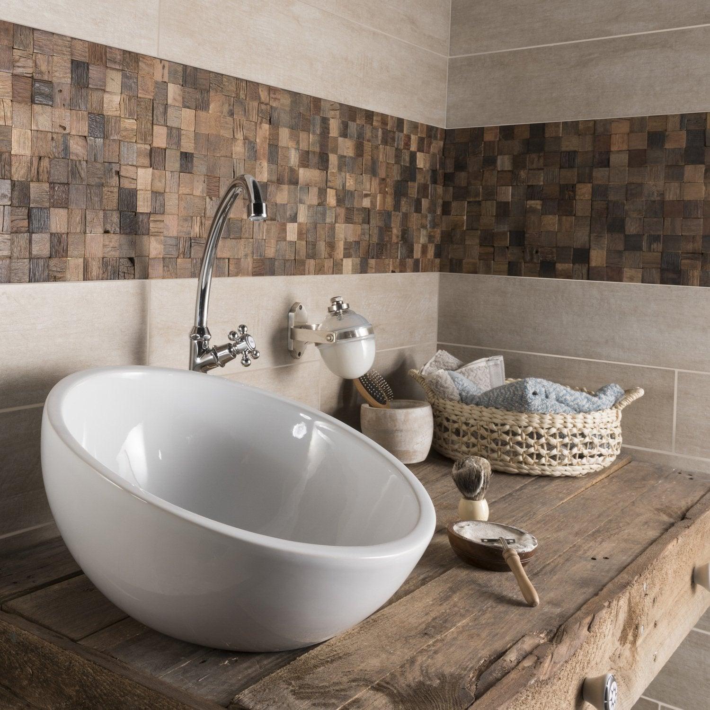 La mosaïque réveille votre salle de bains | Leroy Merlin