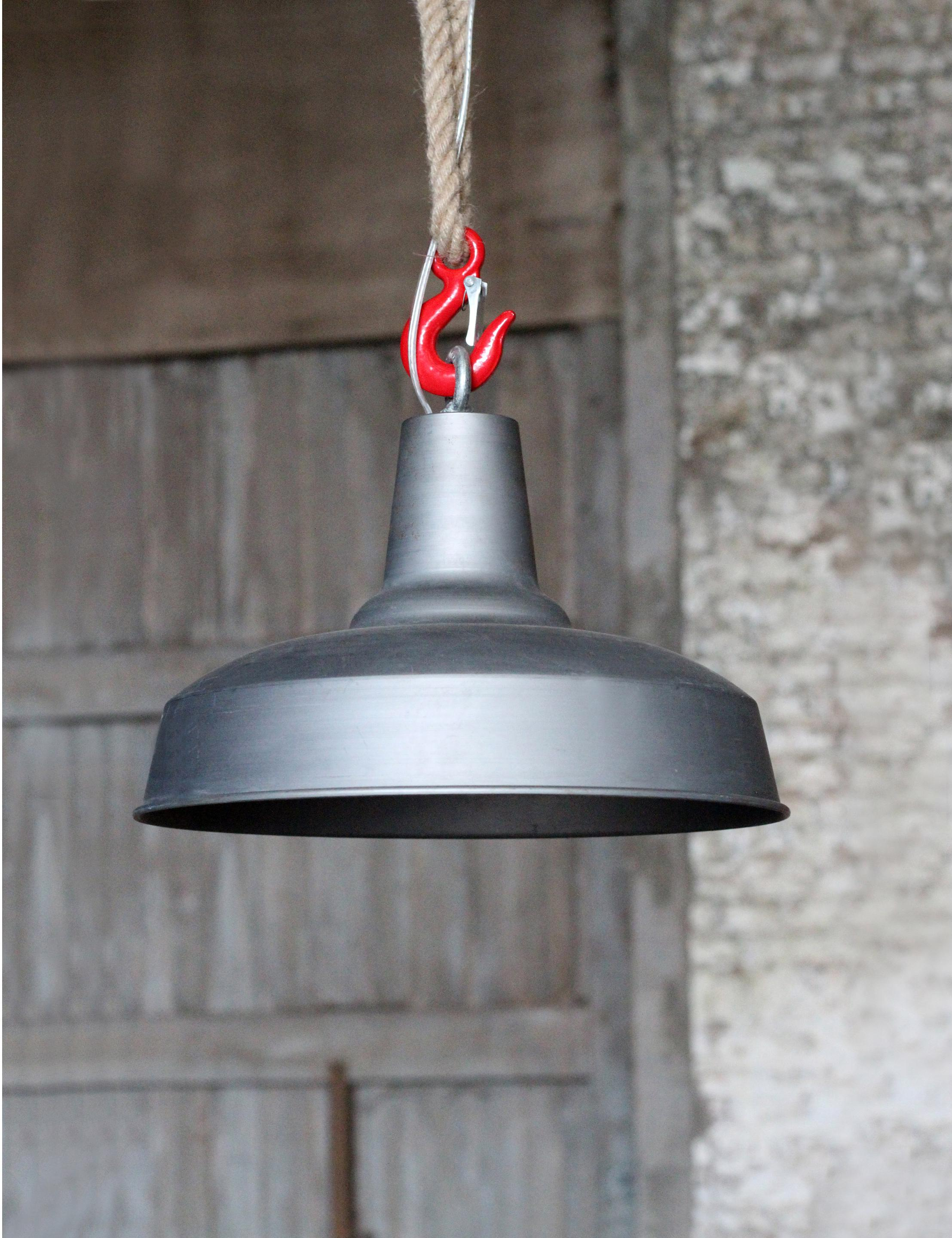 Suspension, e27 style industriel Cargo métal métal naturel 1 x 60 W