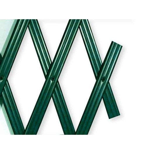 Treillage extensible droite en PVC JANY TRADITION, l.300 x H.100 x P.0.8 cm