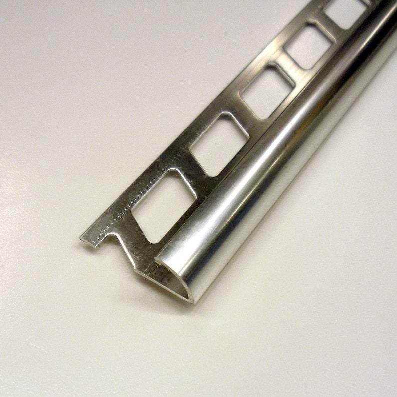 14 De Rond Carrelage Mur Aluminium Anodisé L25 M X Ep9 Mm