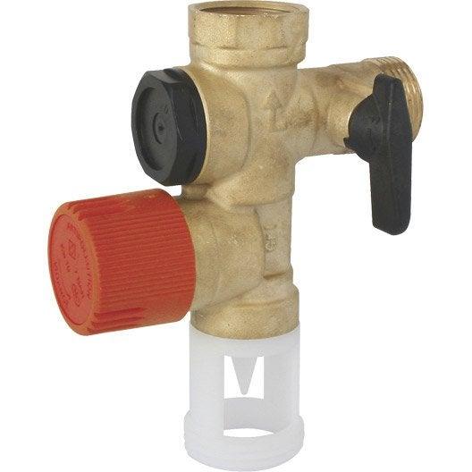 Groupe de sécurité Inox pour eau calcaire et agressive EQUATION