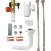 Kit groupe de sécurité complet inox pour eau agressive EQUATION