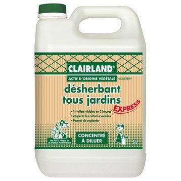Désherbant polyvalent CLAIRLAND BIOLINE 5 l