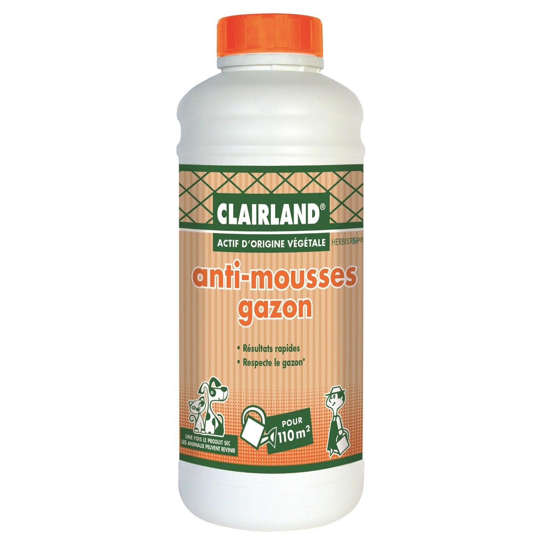 Antimousse polyvalent clairland 1 l leroy merlin - Produit anti mousse gazon ...