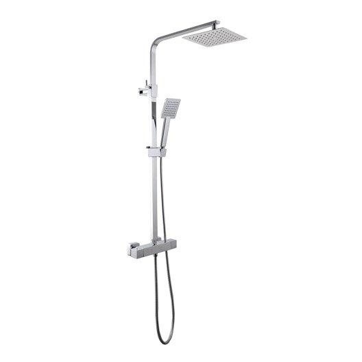 Barre et colonne de douche salle de bains au meilleur for Leroy merlin mitigeur bain douche
