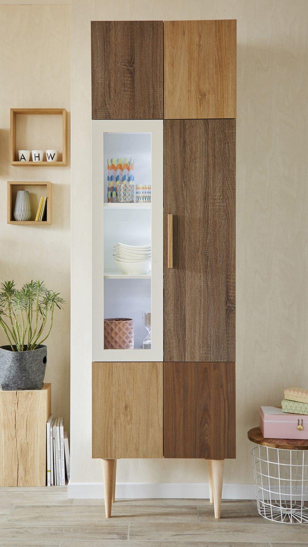 Rangement Pour Le Bois mixer les matières du bois pour un meuble de rangement
