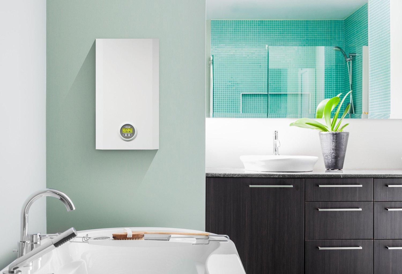 un chauffe eau gaz instantan dans votre salle de bains leroy merlin. Black Bedroom Furniture Sets. Home Design Ideas