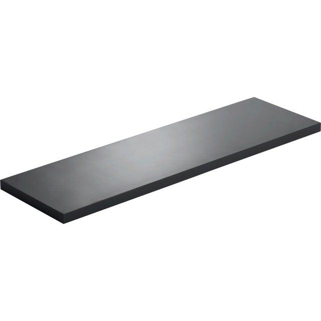 Etagère Murale Noir Noir N0 L60 X P18 Cm Ep18 Mm