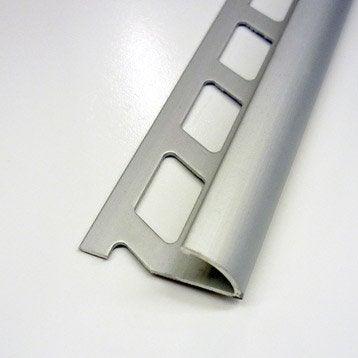 profilé de finition carrelage mural (quart-de-rond, joint d'angle