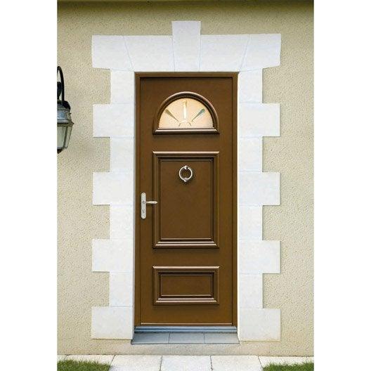 Porte d 39 entr e sur mesure en aluminium bernes excellence - Porte entree alu leroy merlin ...