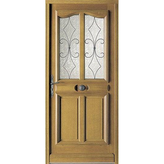 Porte d 39 entr e sur mesure en bois courchevel excellence - Portes d entree leroy merlin ...