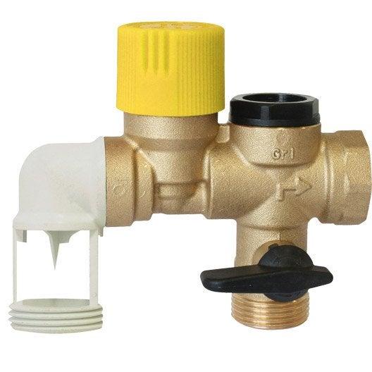 Groupe de s curit coud t flon pour eau calcaire equation for Groupe de securite pour chauffe eau