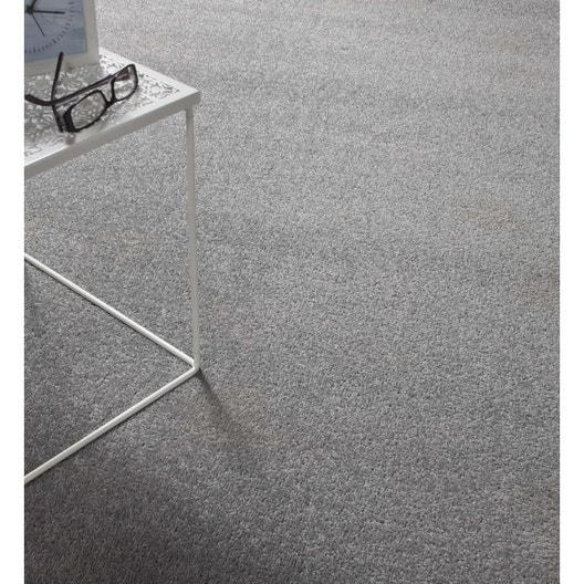 moquette velours minimoon argent 4 m leroy merlin. Black Bedroom Furniture Sets. Home Design Ideas