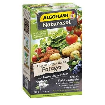 Engrais naturel potagers ALGOFLASH 800 g