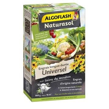 Engrais naturel universel ALGOFLASH 800 g