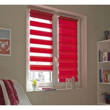 Store enrouleur jour / nuit INSPIRE, rouge rouge n°3, 56 x 160 cm