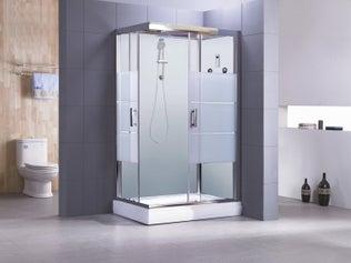 cabine de douche sur mesure leroy merlin