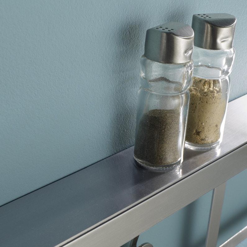 Une barre de cr dence inox pour la cuisine leroy merlin - Barre de credence pour cuisine ...