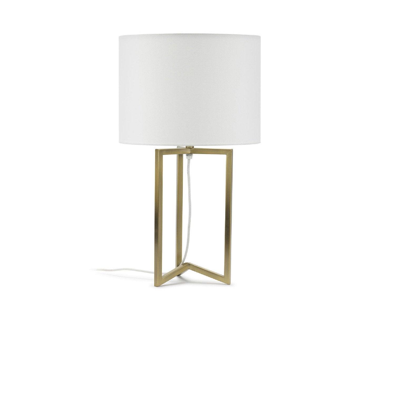 Lampe, e27 Sibyl MATHIAS, synthétique blanc, 23 W