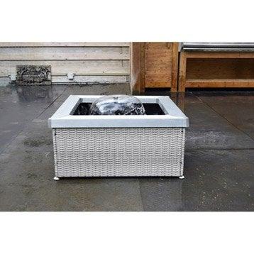 fontaine et cascade d 39 exterieur pierre fonte leroy merlin. Black Bedroom Furniture Sets. Home Design Ideas