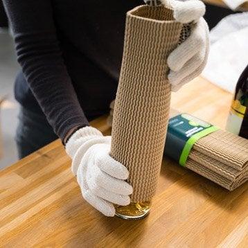 Protection en carton pour bouteilles x6
