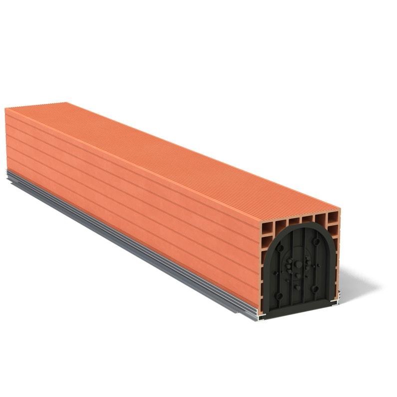 Coffre Volet Roulant Monobloc H30 X L299 Cm