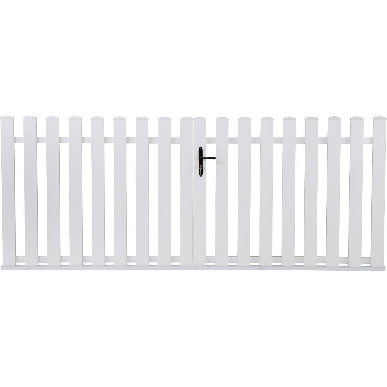 Bien choisir un portail battant PVC pas cher, conseils et prix