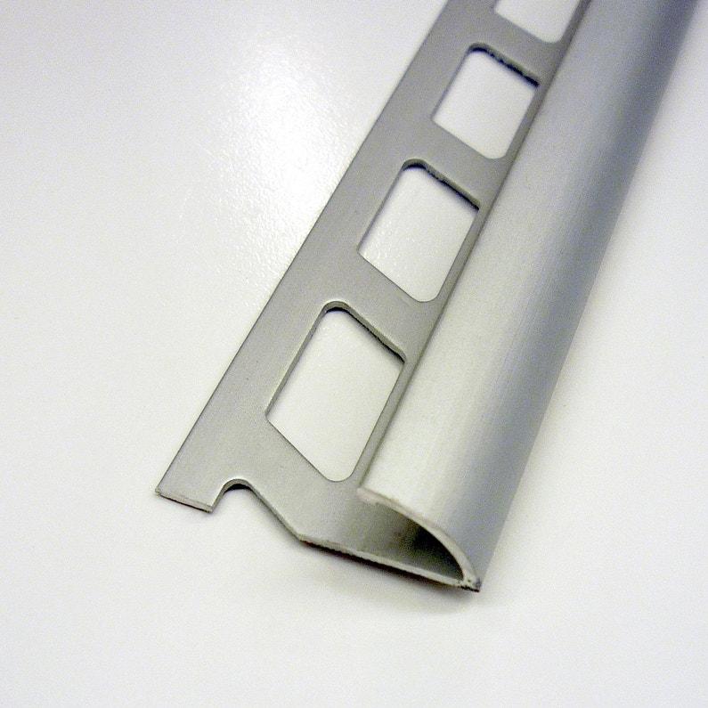 14 De Rond Carrelage Sol Aluminium Anodisé L25 M X Ep125 Mm