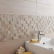 Faïence mur gris, Boreal l.20 x L.60 cm