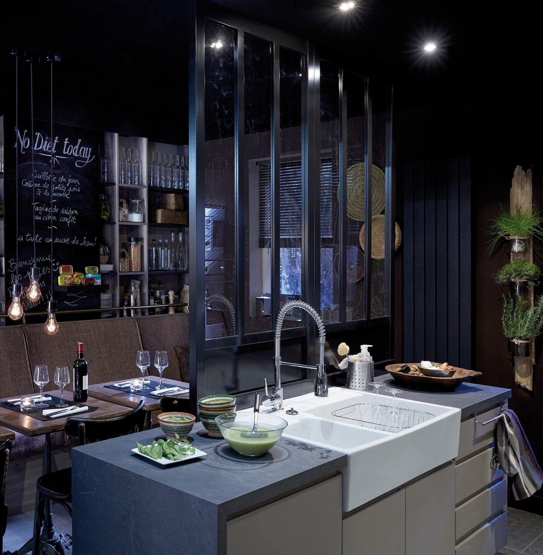 un esprit bar pour moderniser votre cuisine | leroy merlin