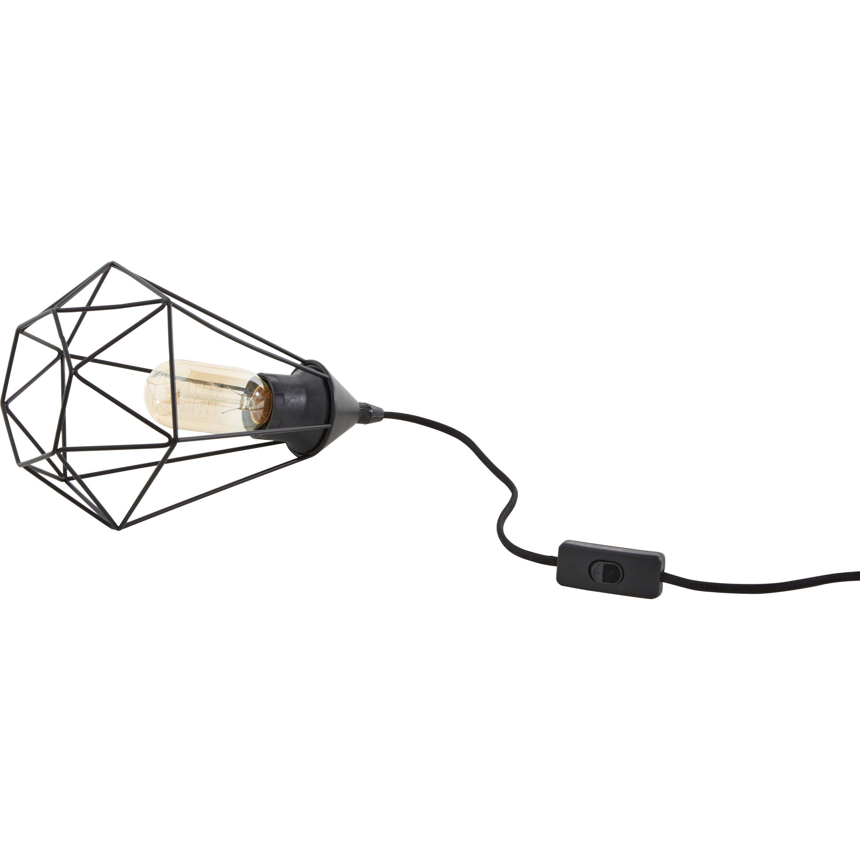 Lampe, design, acier inox noir, INSPIRE Byron