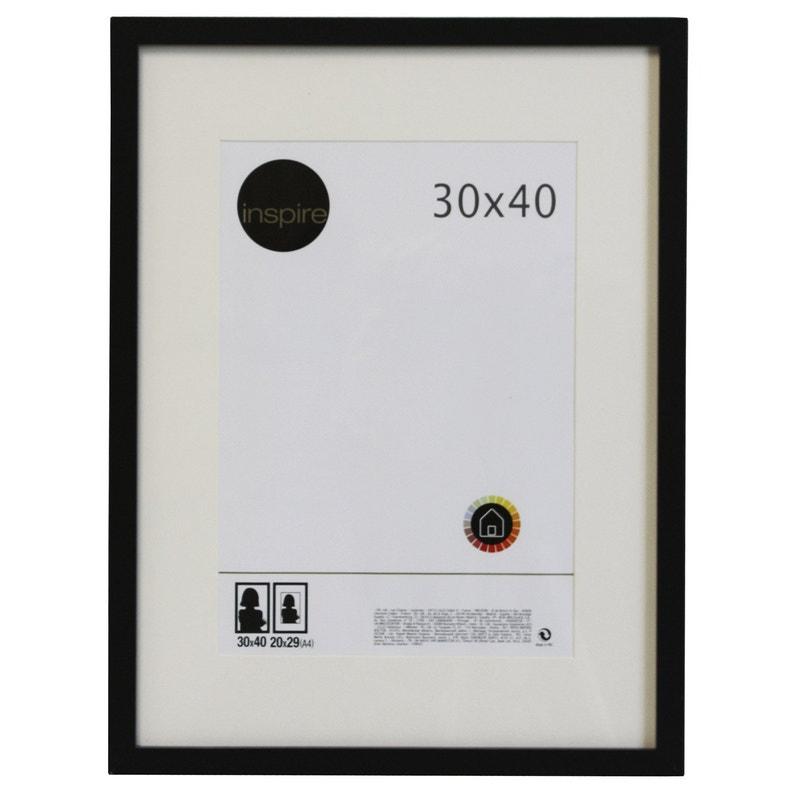 Cadre Lario 30 X 40 Cm Noir