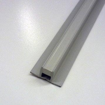Joint de dilatation et fractionnement sol, pvc L.2.5 m x Ep.10 mm