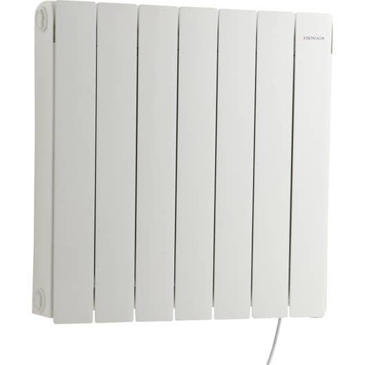 radiateur lectrique inertie pierre deltacalor cubo 1500 w leroy merlin. Black Bedroom Furniture Sets. Home Design Ideas