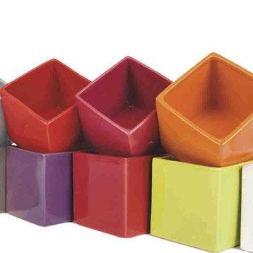Cache pot plastique terre cuite leroy merlin for Cache pot design interieur