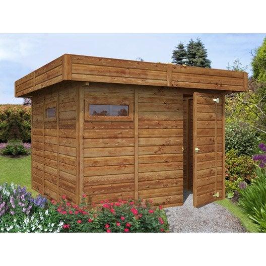 Abri de jardin bois m tal r sine chalet de jardin - Carrefour abri de jardin bois ...