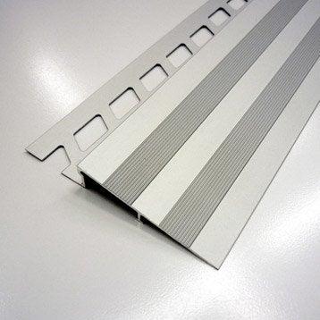 Rampe d'accès sol, aluminium anodisé L.2.5 m x Ep.12.5 mm