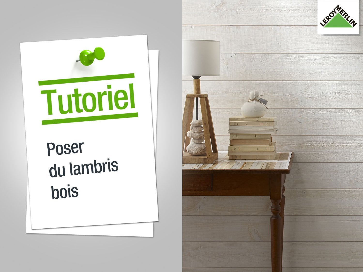 Lambris adh sif ch ne brut stickwood x cm for Pose d un lambris bois au plafond