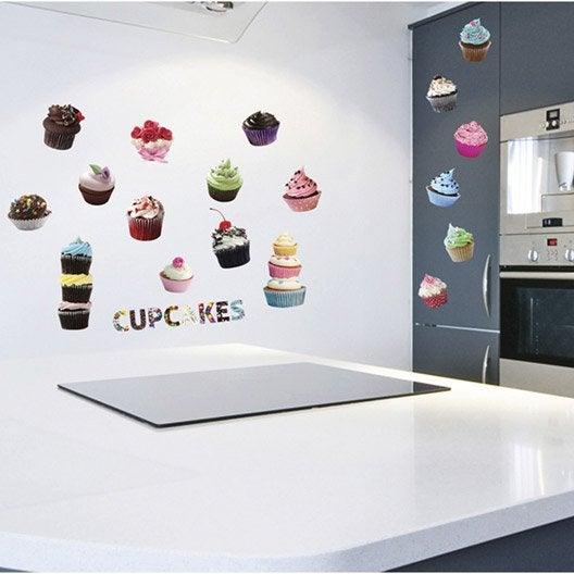 Sticker cup cakes 50 cm x 70 cm leroy merlin - Stickers cuisine leroy merlin ...
