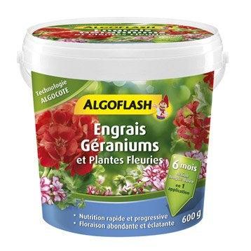 Engrais géraniums ALGOFLASH 600 g