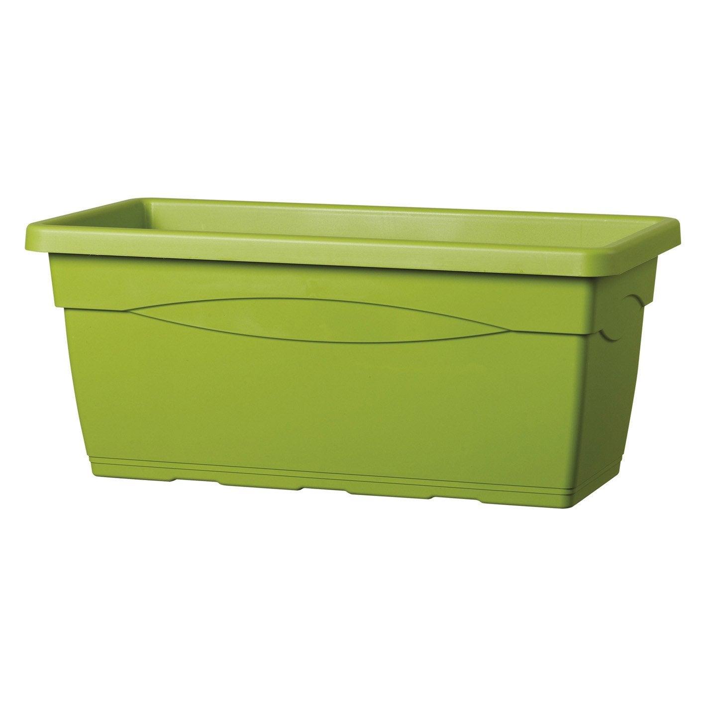 Bac Plastique DEROMA L.100 X L.44 X H.40 Cm Olive