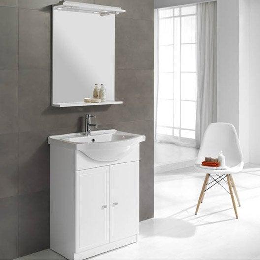 meuble vasque 65 cm galice leroy merlin. Black Bedroom Furniture Sets. Home Design Ideas