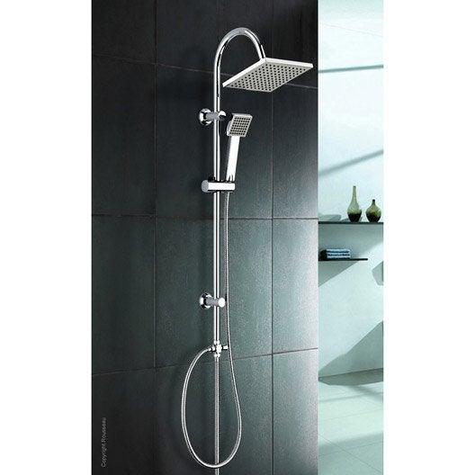 colonne de douche sans robinetterie rousseau soto leroy merlin. Black Bedroom Furniture Sets. Home Design Ideas