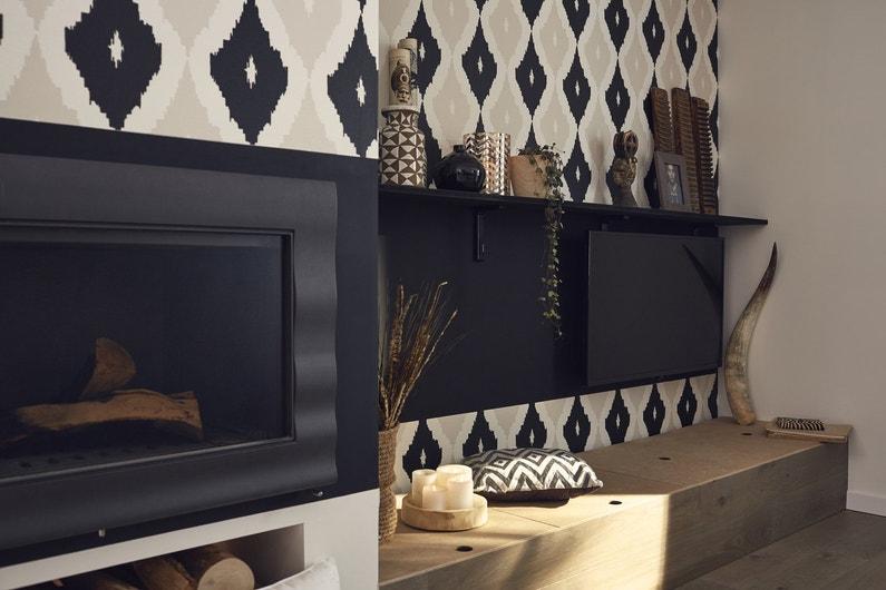 un po le bois encastrable pour une d co design leroy merlin. Black Bedroom Furniture Sets. Home Design Ideas