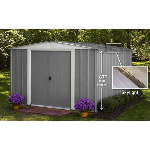 abri de jardin lm101067s m ep mm leroy merlin. Black Bedroom Furniture Sets. Home Design Ideas