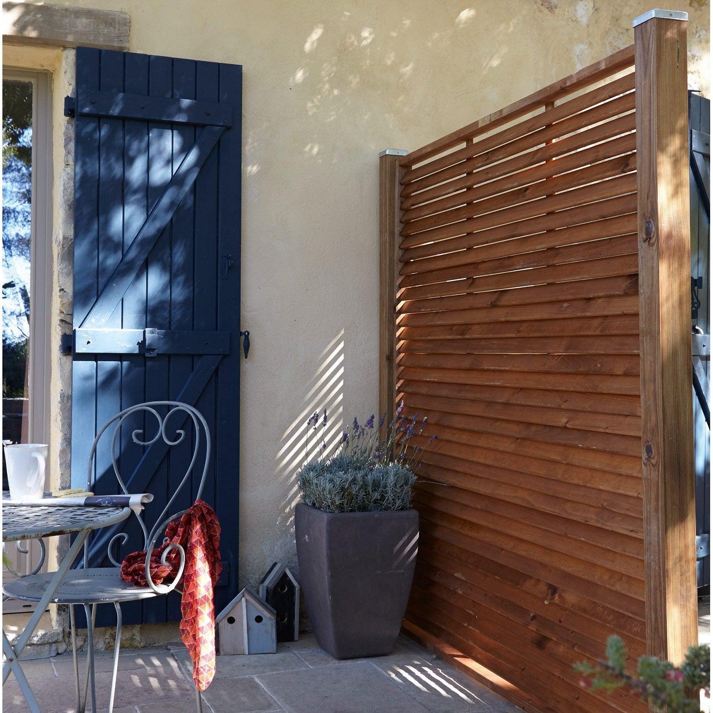 panneau persienn pr mont bois vera x cm naturel leroy merlin. Black Bedroom Furniture Sets. Home Design Ideas