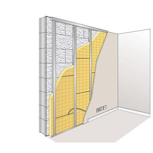 panneau en laine de verre 32 pp pureone by ursa r leroy merlin. Black Bedroom Furniture Sets. Home Design Ideas