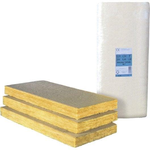 Panneau en laine de verre pnm plus kraft r leroy - Coefficient thermique laine de verre 100mm ...