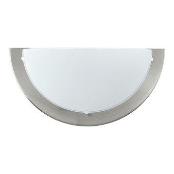 Applique Planet, 1 x 60 W, métal gris, EGLO