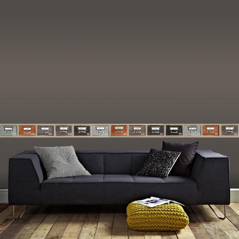 Frise vinyle adhésive Archives L.5 m x l.15 cm   Leroy Merlin